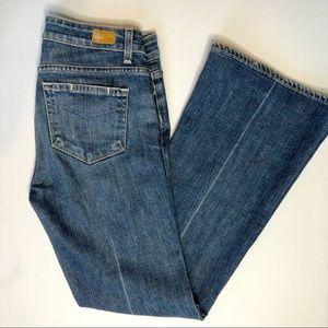 Paige. Denim bell bottom jeans. Size 27